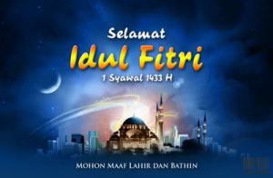 Idul Fitri 1433 H