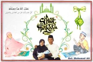 Selamat Idul Fitri Keluarga Muhal